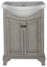 corsicana bathroom vanity with vitreous china sink antique gray 26 transitional bathroom photos bathroom vanity