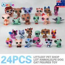 <b>24Pcs Littlest Pet Shop Lot</b> Animals <b>LPS</b> Dog Cat Figures Toy | eBay