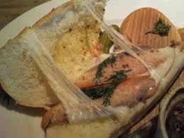 salmon mozzarella cheese panini spinach quiche onion rings sn3o5306
