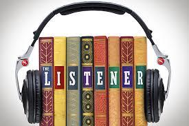 Bildresultat för listening to books
