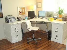 view in gallery file cabinet diy desk 18 diy desks to enhance your home office build office desk