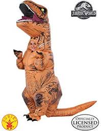 Rubie's Adult Official <b>Jurassic World</b> Inflatable <b>Dinosaur</b> Costume