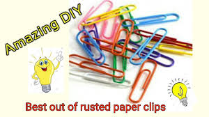 Amazing DIY with waste <b>Paper clips</b> ll Best out of waste - YouTube