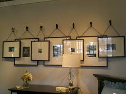 dining room wall decorating ideas: i thought this is such a neat idea for your gallery wall a little different