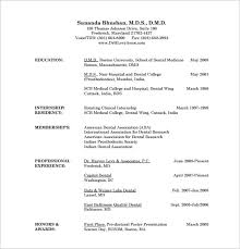 doctor resume template –    free word  excel  pdf format download    dental doctor resume free pdf template