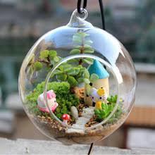 Террариумный шар, прозрачная подвесная стеклянная <b>ваза в</b> ...
