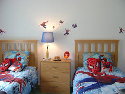decorate bedroom spiderman decor