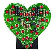 Velleman MiniKits <b>MK101</b> FLASHING LED SWEETHEARTS ...