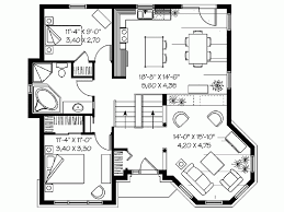 Eplans Country House Plan   Comfortable Single Story Empty Nester    Level