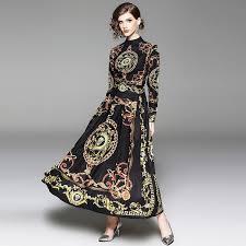 2019 <b>Autumn</b> Dress Women New Fashion Elegant Long Sleeve ...