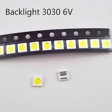 TV Backlight <b>LED</b> Diode <b>SMD 3030</b> 6V 1.8W <b>Cool</b> White <b>LED</b> ...