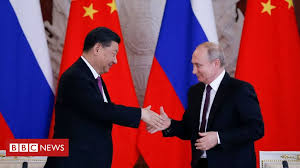 China's Xi praises '<b>best friend</b>' Putin during Russia visit - BBC News