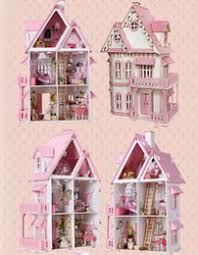 discount wood toys furniture doll house pink diy wooden miniatura doll house furniture handmade 3d miniature affordable dollhouse furniture