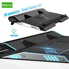 LLANO <b>Laptop Cooler</b> 2 USB Ports Two Cooling <b>Fan Base</b> ...