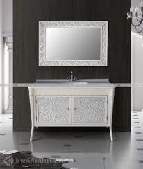 Мебель для ванной <b>Atoll Валенсия 130</b> белый серебро в ...