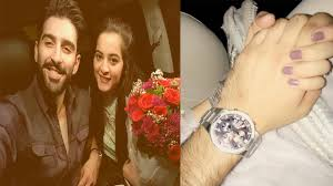 aiman khan and muneeb bhatt engagement date revealed aiman khan and muneeb bhatt engagement date revealed