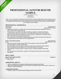 Professional Janitor Resume Sample | Resume Genius Janitor-Resume-Professional
