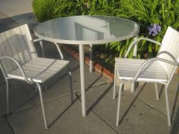 crossman piece outdoor bistro: the great white  set patio outdoor balcony chairs and table with