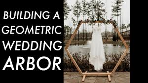 DIY Geometric <b>Wedding Arbor</b> // Woodworking - YouTube