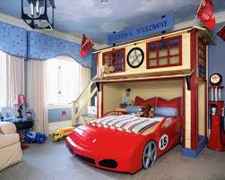 kid bedroom with race car cars bedroom set cars