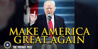 「trump inauguration speech america first」の画像検索結果