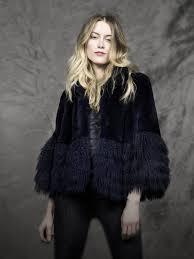 Annabelle <b>New York's</b> Rex Rabbit Fur <b>Jacket</b> With Tibetan Lamb ...