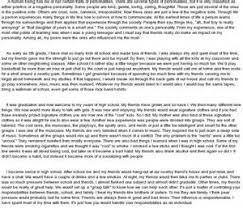 effects peer pressure essay