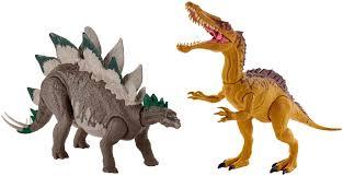 <b>Jurassic World</b> Mega Dual Attack <b>Dinosaur</b> Action <b>Figure</b> Styles May ...