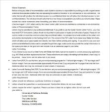 Recommendation Letter For Graduate Student From Professor   sample     lbartman com