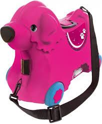 <b>Детский чемодан BIG</b> на колесах - Собачка (розовый) - купить по ...