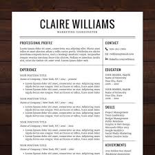 ideas about resume template free on pinterest   free resume    resume   cv template  free cover letter  instant download  mac or pc for word  modern  professional  black   the claire