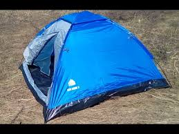 "<b>Палатка</b> трехместная Trek Planet ""Lite Dome 3"" Распаковка на ..."