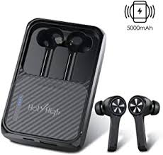 【 240H Playtime】 HolyHigh True <b>Wireless Earbuds Bluetooth 5.0</b>
