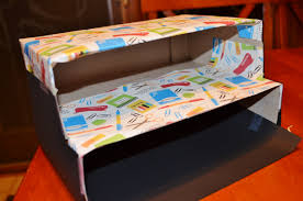 storage boxes e crafthubs craft diy stylish recycled organizer box from cereal boxes craft teacher sto