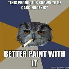 Art Student Owl | Know Your Meme via Relatably.com