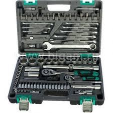 <b>Набор инструментов</b> в пластиковом кейсе <b>Stels</b> 14105 (<b>1/2</b>, 1/4 ...