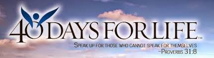 Image result for 40 days for life 2015