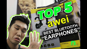 Top 5 Best Awei <b>Bluetooth Earphones</b> - YouTube