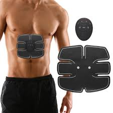 Electronic Abdominal Fitness <b>EMS Wireless Electric Muscle</b> ...