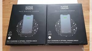 Беспроводное <b>зарядное</b> устройство <b>Native</b> Union Dock купить в ...