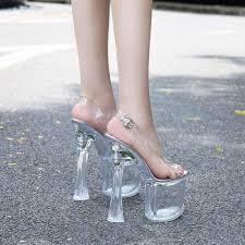 LTARTA <b>34 43 Women</b> Crystal 14cm Heels Nightclub Luminous ...