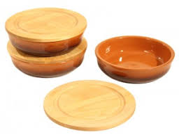 Вятская керамика <b>Набор посуды для холодца</b>, 6 предметов