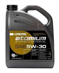 <b>Синтетическое моторное масло</b> SAE 5W-30 Супротек Атомиум, 4 л