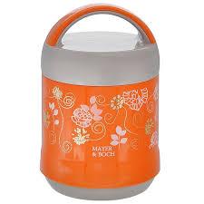 "<b>Термос пищевой</b> ""<b>Mayer &</b> Boch"", цвет: оранжевый, серый, 1,2 л ..."