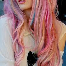Resultado de imagen de pelo rosa tumblr