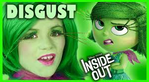 inside out disgust makeup tutorial disney pixar cosplay kittiesmama