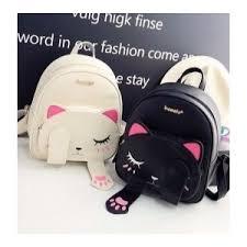 <b>Рюкзак</b> Aliexpress Cat <b>Backpack</b> Black Preppy Style School ...