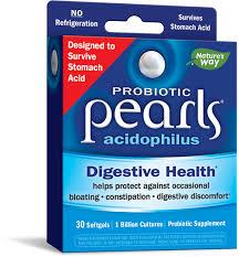<b>Probiotic Pearls</b>™ <b>Acidophilus</b> / 30 caps - Nature's Way®.