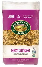 Nature's Path, <b>Organic</b>, Gluten Free, Breakfast Cereal, <b>Mesa Sunrise</b> ...