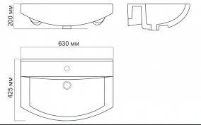 <b>Раковина Sanita Luxe Best</b> BST65SLWB01 63 см в интернет ...